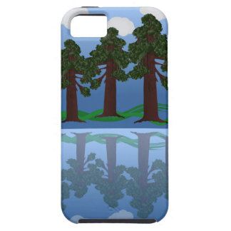 tree reflection tough iPhone 5 case