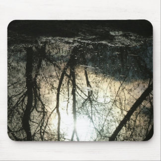 Tree reflections mouse pad