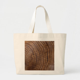 Tree rings tote bags