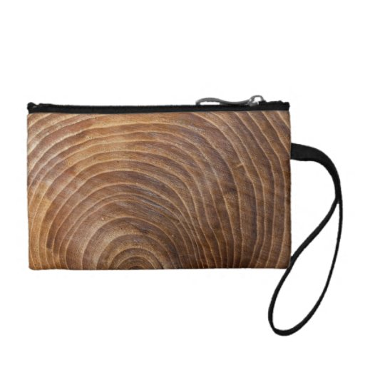 Tree rings coin wallets