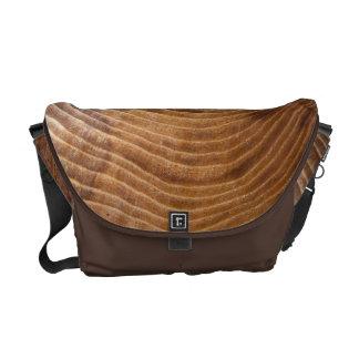 Tree rings messenger bag