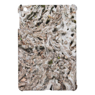 Tree root composition iPad mini case