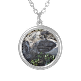 TREE ROOT SILVER PLATED NECKLACE