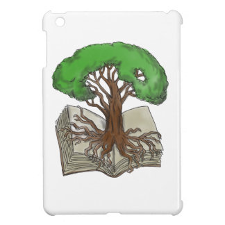 Tree Rooted on Book Tattoo Cover For The iPad Mini