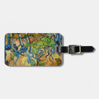 Tree Roots by Vincent van Gogh (July 1890) Luggage Tag