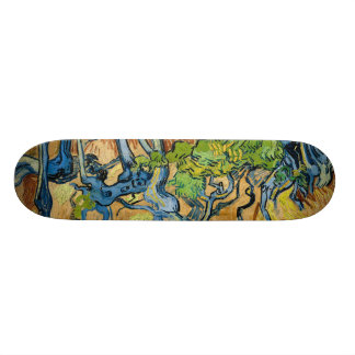 Tree Roots by Vincent van Gogh (July 1890) Skate Board Deck