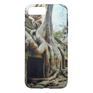 Tree Roots Covering Ruins at Angkor Wat iPhone 7 Plus Case