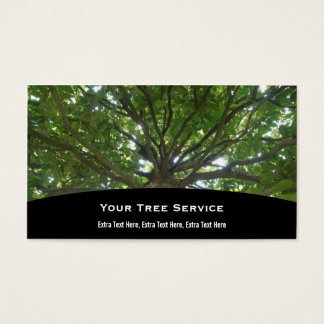 Tree Service Business Card