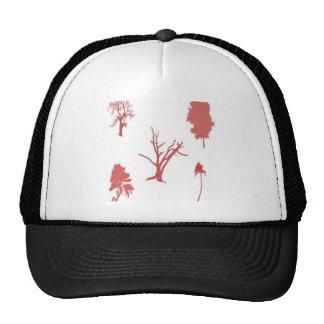 Tree set design trucker hat