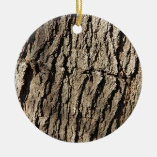 Tree Side Round Ceramic Decoration