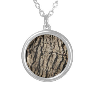 Tree Side Silver Plated Necklace