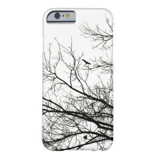 Tree Silhouette Flying Bird iPhone 6 case
