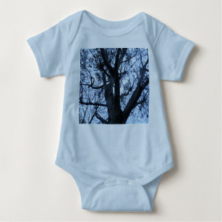 Tree Silhouette Photograph Baby Clothing Baby Bodysuit