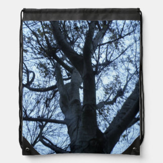 Tree Silhouette Photograph Backpack