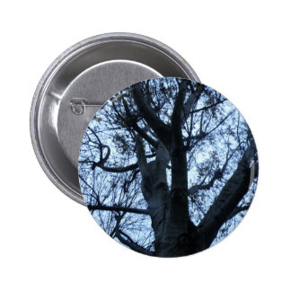 Tree Silhouette Photograph Button
