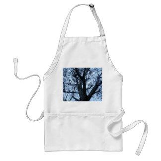 Tree Silhouette Photograph Gardening Apron