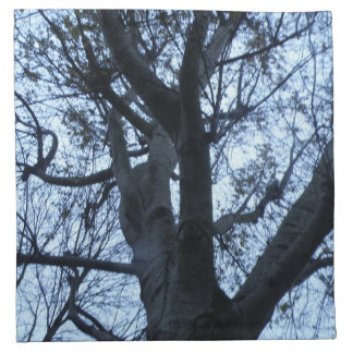 Tree Silhouette Photograph Napkin