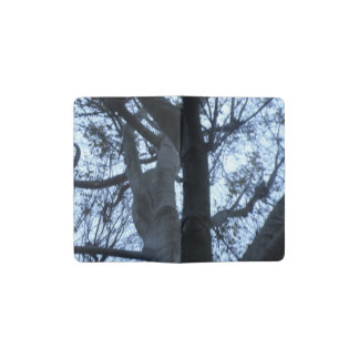 Tree Silhouette Photograph Notebook Cover