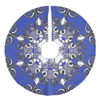 Tree skirt Bluenoser Blue nose Reindeer deer blue