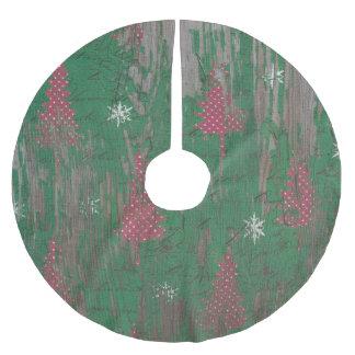tree skirt rustic christmas tree holiday