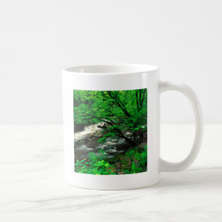 Tree Smoky Mountains National Coffee Mugs