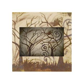 tree sorrow wood canvas