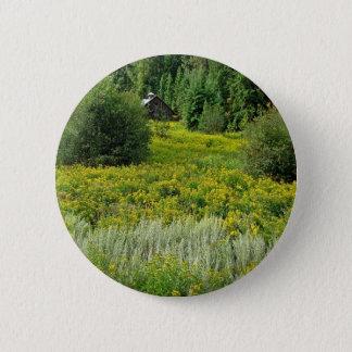 Tree Spring Woods 6 Cm Round Badge