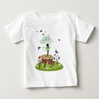Tree Stump and Fairy 2 Baby T-Shirt