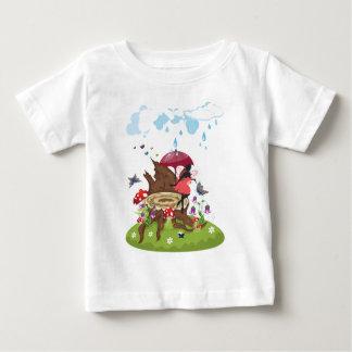 Tree Stump and Fairy Baby T-Shirt