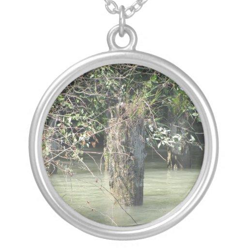 Tree Stump Necklace