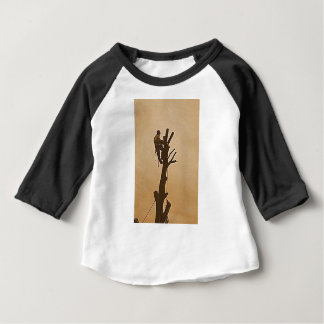Tree Surgeon Arborist at work present Baby T-Shirt