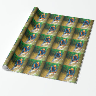 Tree Surgeon Arborist christmas present Birthday Wrapping Paper