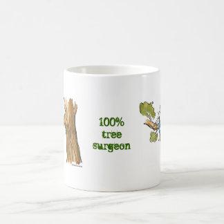 tree surgeon basic white mug