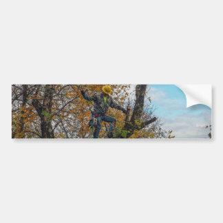 Tree Surgeon Bumper Sticker