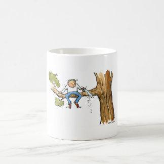 Tree surgeon coffee mugs