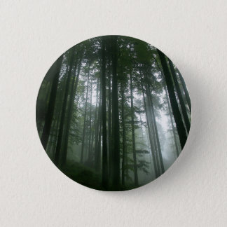 Tree Tall Pines 6 Cm Round Badge