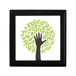 Tree the alphabet gift box