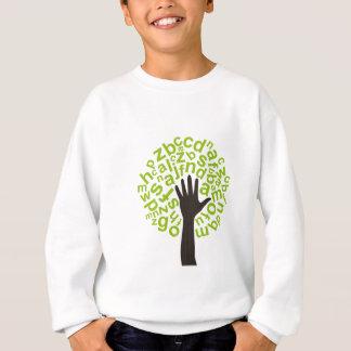 Tree the alphabet sweatshirt