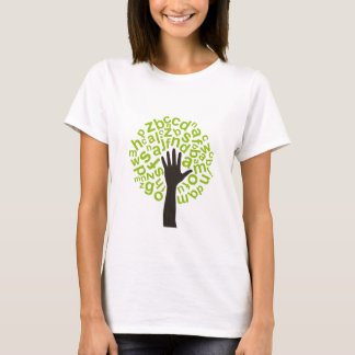 Tree the alphabet T-Shirt