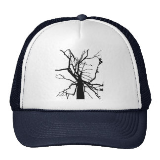 Tree Top Abstract Hat