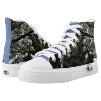 TREE TOP HIGH TOPS ....SUPER CUTE PRINTED SHOES