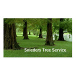 Tree Trimmer Service Pack Of Standard Business Cards