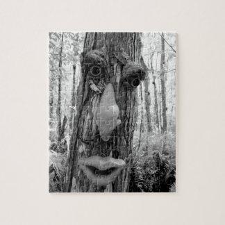 Tree troll on a Big Cypress tree. Jigsaw Puzzles