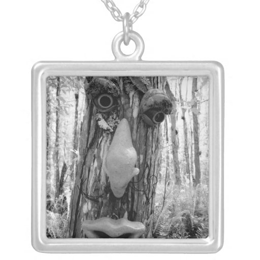 Tree troll on a Big Cypress tree. Necklaces