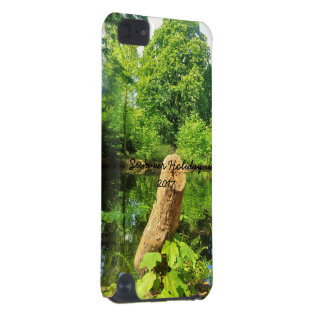 Tree Trunk Nature Photography Lake Park iPod Touch (5th Generation) Cover