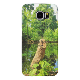 Tree Trunk Nature Photography Lake Park Samsung Galaxy S6 Cases