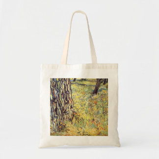 Tree trunks by Vincent van Gogh Bags