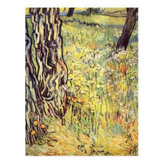 Tree trunks by Vincent van Gogh Postcard