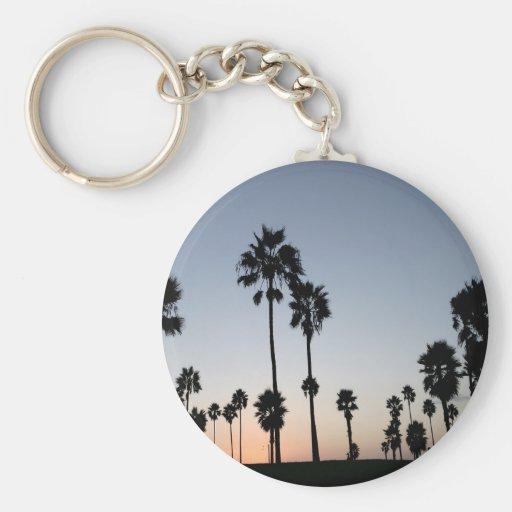 Tree Venice Beach Palm Key Chains