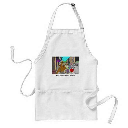 Tree Vs Chain Saw Funny Rick London Gifts Apron